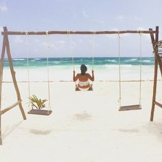 Why Is Everyone So Obsessed With Tulum?: Just a few years ago, Tulum, Mexico, wasn't on many traveler's radars. Mexico Vacation, Mexico Travel, Vacation Spots, Maui Vacation, Vacation Ideas, Cozumel, Places To Travel, Places To Visit, Travel Destinations