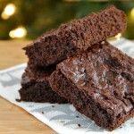 Chocolate Gingerbread Brownies