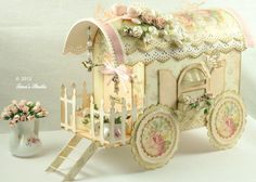Vintage Shabby Chic Wagon with Cutting File (WPC format) or link to another similar set of instructions.