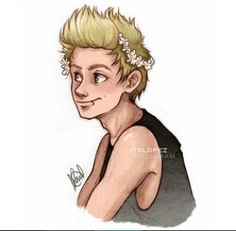 REALLY good drawing of Luke ♡ >> this. Is. SO. CUTE!!!
