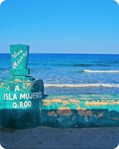 The Sea Wall: Isla Mujeres..I feel like she has been calling my name...LOUDLY.