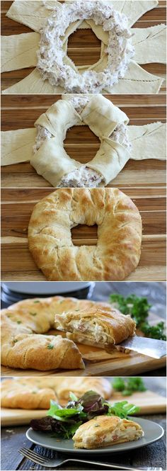 ItsSelected: Chicken Cordon Bleu Crescent Ring
