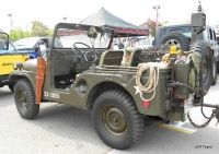 1953 Army Jeep Left Side