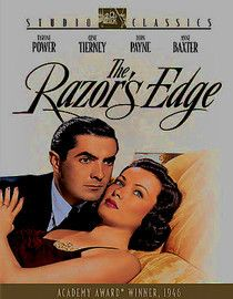 The Razor's Edge /// Tyrone Power could have been the first James Bond--but for a decade or two in his age, that is...
