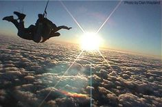 Well, don't know if I'll ever do it, but I definitely have an interest...Sky Diving