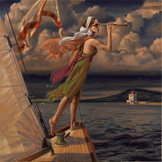 LET YOUR DREAMS SET SAIL by Peregrine Heathcote