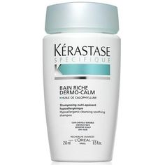Buy Discounted Kerastase Specifique Bain Riche Dermo-Calm 250 ml for delivery in Australia from Brands Now Dry Damaged Hair, Dry Hair, Which Shampoo Is Best, Rebonded Hair, Tresemme Keratin Smooth, Dove Shampoo, Breaking Hair, Nourishing Shampoo, Sensitive Scalp