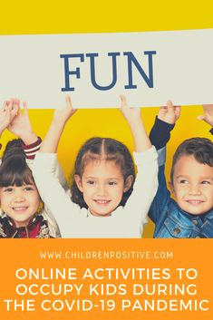 Online Activities To Occupy Kids During The COVID-19 Pandemic - Children positive Physical Education Activities, Educational Activities, Preschool Activities, Simple Dance Steps, Online Learning Sites, Stem Projects For Kids, Science Topics, Yoga For Kids, Life Skills