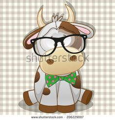 Cow Illustration Photos et images de stock | Shutterstock