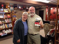 Chuck & Dee Robinson with The Scar Boys at Village Books in Bellingham, WA.