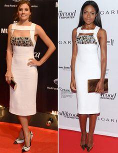 Michelle Jenner y Naomie Harris