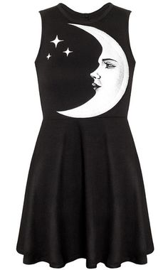 I'd rock this! Moonchild Skater Dress from Killstar! See it here >> www.beserk.com.au/killstar  #Killstar  #Alternative #SkaterDress