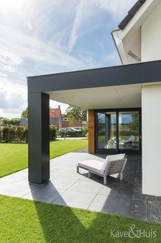 Roscobouw, in harmonie - Eigenhuisbouwen. Outdoor Living, Outdoor Decor, House Floor Plans, Bungalow, Architecture Design, Pergola, Sweet Home, Room Decor, Outdoor Structures
