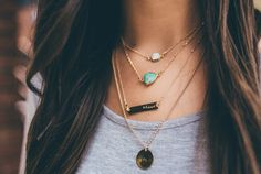 Brave Necklace Stack