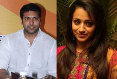 Jayam Ravi and Trisha get ready for a foreign tour
