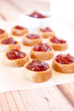 Peanut Butter and Jelly Thumbprint Cookies (GF)