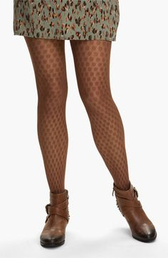 Nordstrom 'Graphic Dot' Tights available at #Nordstrom