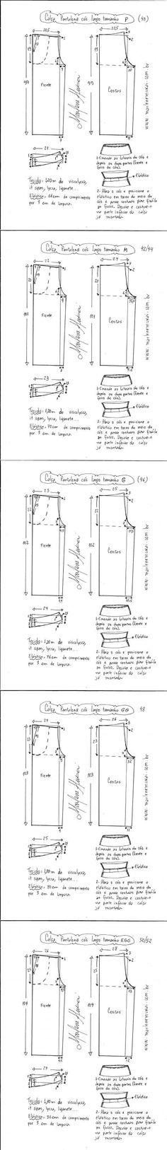 Calça pantalona cós largo de malha | DIY - molde, corte e costura - Marlene Mukai