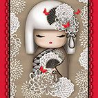 YORIKO DEPENDABLE Panel 1649-24147-AR In by MaterialGirlsQuilt