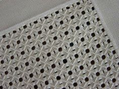 Hardanger Embroidery, Hand Embroidery Stitches, Embroidery Needles, Mantel Beige, Unique Christmas Trees, Drawn Thread, Embroidered Towels, Buy Fabric, Bargello