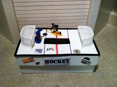 Hockey Valentine Box