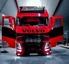 Volvo Cars, Volvo Trucks, Pickup Trucks, Auto Jeep, Show Trucks, Big Rig Trucks, Stock Car, Customised Trucks, Dream Car Garage