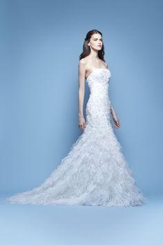 Carolina Herrera Bridal Spring 2016 'Josilyn' bridal gown