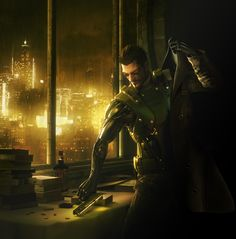 Adam Jensen from Deus Ex Human Revolution. Even cooler than JC Denton, if possible.