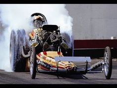 "1968  AA /FD Dragster ""Stone Age Man""  and Top Fuel Dragster ""Blood Swea..."