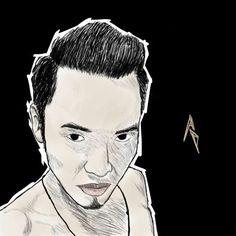 Sketch of me #cartoon#sketch