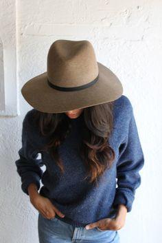 JANESSA LEONE WEGNER HAT - for fall