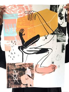 A Ghent-based comics and illustration collective with a quarterly publication. Pattern Illustration, Graphic Illustration, Colorful Abstract Art, Collage Art Mixed Media, Grafik Design, Art Design, Figure Painting, Figurative Art, Art Inspo