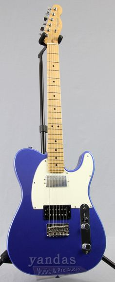 American Standard Telecaster HH From Fender If you love that good old Telecaster sound, but want to rock harder, the American Standard HH is for you. Rather than the usual single-coil pickups, this Te
