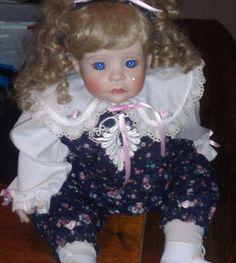 Lloyd Middleton Royal Vienna Collection Porclein Doll
