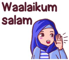 Use this sundanese set sticker with Euis a hijab girl for your daily conversation. Enjoy and share these cute stickers with your friends. Love Cartoon Couple, Cute Cartoon Pictures, Cute Cartoon Girl, Cute Funny Quotes, Cute Memes, Girly Quotes, Muslim Greeting, Moslem, Islamic Posters