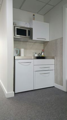 1000 images about elfin behind the scenes on pinterest for Office kitchenette design