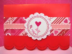Valentine label-adorable.  This site has great free printables too.