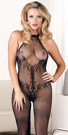 Erotic products: Catsuit from Mandy Mystery lingerie in Lingerie & Fashion - For HER - Lace Catsuit S-L Catsuit, Beautiful Lingerie, Sexy Lingerie, Mesh Clothing, Fishnet Bodystocking, Sexy Stockings, Sexy Hot Girls, Sensual, Female Form