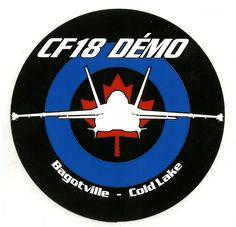 RCAF - CF-18 Demo Sticker