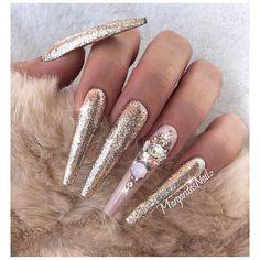 @vetro_usa #coffinnails #nailart #vetrogel #MargaritasNailz #nails…