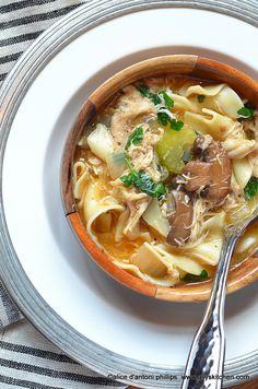~chicken marsala soup~