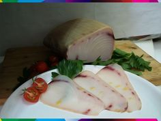 """PESCE SPADA AFFUMICATO (MESSINA). Long renowned among gourmets, the famous smoked """"Straits of Messina swordfish"""" is a Sicilian delicacy.The thin, pinkish slices have such a pleasingly subtle flavour and scent that they beat any smoked salmon. #Messina #Sicily #Italy #food #cucina #pescespada #fish #sea #gourmet"""