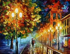 Romantic Aura  Print By Leonid Afremov