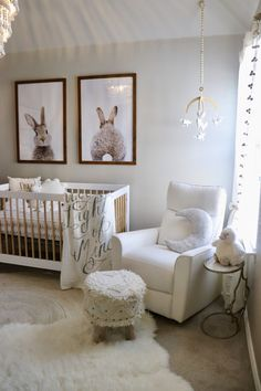 A really cosy nursery.