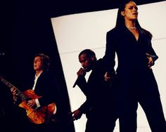 """Rihanna's """"FourFiveSeconds"""" performance with Kanye West and Paul McCartney at The Grammy's"""