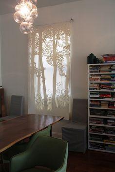 thepapercutter   Window treatments/Store displays