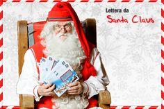 Pretty Little Creations Personalizzabile Lettera di Babbo Natale Nice Certificato Babbo Natale Busta