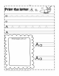 Printing worksheets for the letter A. Print the Letter A Parts Of Speech Worksheets, Punctuation Worksheets, Nouns Worksheet, Types Of Nouns, Grammar Skills, Web Design, Printing, Lettering, Summer