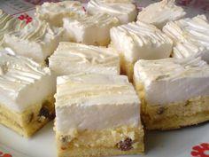 Klasszikus Rákóczi túrós - Mindmegette villámverseny Recept képpel - Mindmegette.hu - Receptek Hungarian Desserts, Hungarian Recipes, Hungarian Food, Baked Goods, Feta, Camembert Cheese, Caramel, Cupcake, Cheesecake