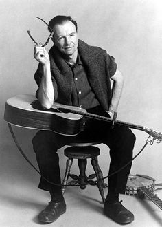 click on photo to read Rolling Stone magazine tribute to Pete Seeger, singer/songwriter, activist RIP 1/27/2014 at age 94